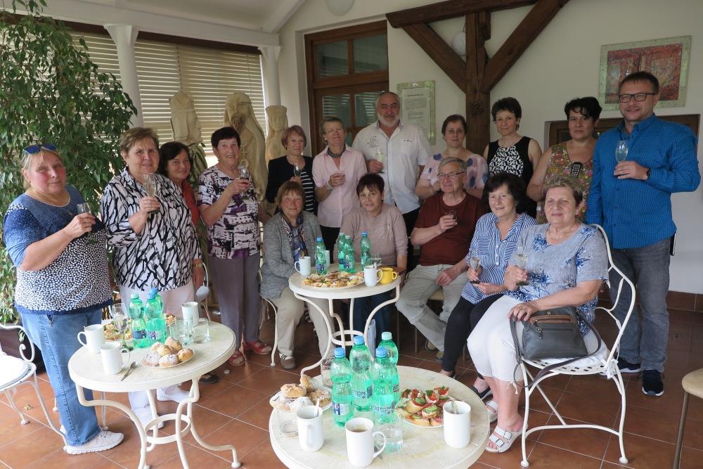 2019 Zámecká slavnost - setkání s bývalými zaměstnanci domova (1.6.)