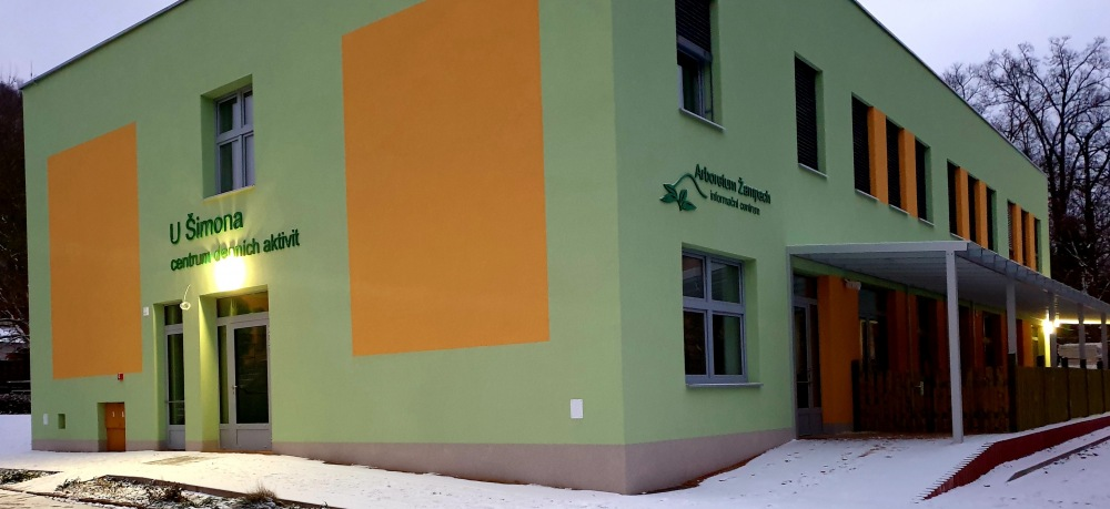 Budova CDA U Šimona po dokončení rekonstrukce v 11/2020