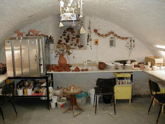 Původní keramická dílna